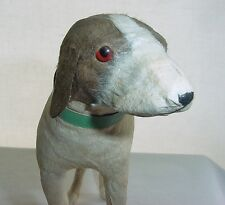 Expressive ONE of a KIND Elegant DOG SCULPTURE Rare PAPER ART Japanese w/ LABEL