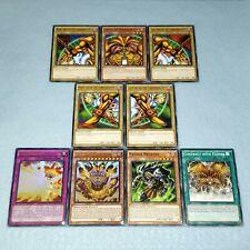Yugioh Complete Exodia the Forbidden One 9 Card Set Legendary Incarnate Necross