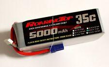 RoaringTop LiPo Battery Pack 35C 5000mAh 6S 22.2V with EC5 Plug