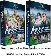 Amico mio - Die Kinderklinik in Rom - Staffel 1 + 2, 4 + 3 DVD Set NEU + OVP