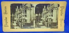 Illinois Chicago North Side Water Works Stereoview