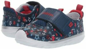NIB STRIDE RITE Outdoor Water Shoes Swim Phibian Navy Blue Star Unisex 6 M
