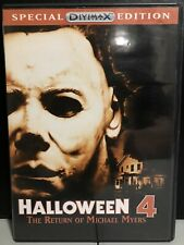 Halloween 4: The Return of Michael Myers (DVD, 2006, DiviMax Special Ed)-Horror