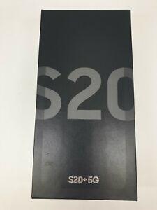 Galaxy S20+ 5G SM-G986N 256GB Snapdragon 865 Gray Unlocked Single SIM Brand New!