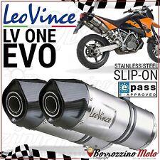 POT ECHAPPEMENT APPROUVE LEOVINCE LV ONE EVO KTM SM SUPERMOTO/R 990 2011 2012