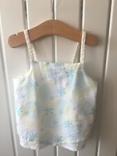 Little Girl's Clothes 2-3 Years - Cute Cotton Scrappy Sun Top 🌞🌞🌞