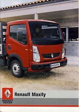Renault Maxity 06 / 2007 catalogue brochure  camion truck