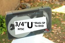 "3/4"" U-Matic SP To DVD VCR Video Tape Digitizing Sony File Transfer SERVICE"