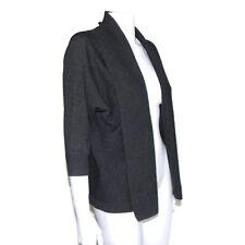 NORDSTROM 100% Cashmere Gray Cascading Cardigan Dolman Sweater sz XS/S /8378