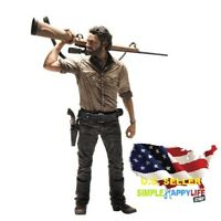 The Walking Dead TV Rick Grimes Deluxe 10 Inch Action Figure Mc Farlane Toy USA
