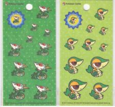 Pokemon Center - Pokedoll Sticker Sheet Set - Snivy Serperior