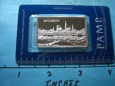 PAMP SUISSE SZCZECIN POLAND 999 SILVER VERY RARE 2000 ONLY SEALED ASSAY