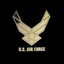 US Air Force Logo Emblem Metal Decal Sticker For Desktop Laptop, Tablet PC