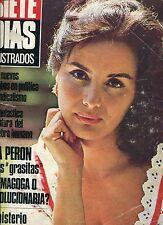 EVA PERON  EVITA  EUROPEAN TRIP & ISABEL SARLI  Rare  MAGAZINE ARGENTINA 1963