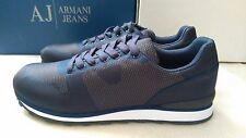 Armani Jeans jacquard running sneakers size 9.5UK (44EU)