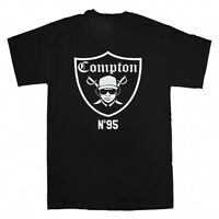 EAZY E COMPTON RAIDERS 1995 NWA RAP HIP HOP T SHIRT