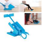 No Bending Stretching Helper Sock Slider Kit Easy On Off Shoe Horn Pain Aid ~@
