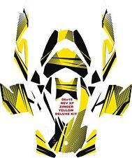 SNOWMOBILE SKI DOO WRAP KIT DECAL REV,XP, XR,XS,XM   ALL YEARS ZINGER DELUXE KIT