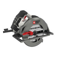 """Porter-Cable 15A 7.25"""" HD Circular Saw PCE310R Certified Refurbished"""