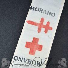 Fascia da braccio Croce Rossa - Giornata delle Due Croci - Murano Venezia