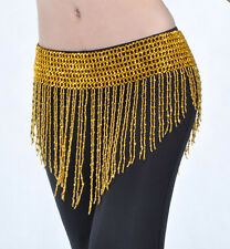C127 Bauchtanz Kostüm Hüfttuch Hüftgürtel Münzgürtel Tribal Fusion Hip Belt
