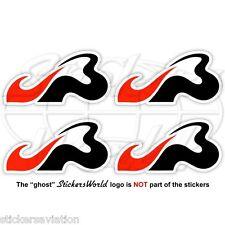 "JULES BIANCHI JB Formula 1 F1 50mm (2"") Stickers Adesivi in Vinile Per Auto x4"