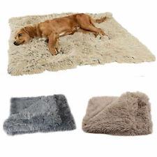 Large Dog Cat Puppy Blanket Pet Soft Fluffy Blanket Cosy Plain Warm Throw Mat Us