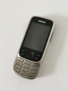 Nokia 6303i Silver Unlocked Camera Bluetooth Classic Mobile Phone