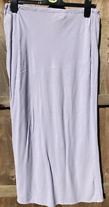 Vintage Ghost Lilac Rayon Skirt Size L