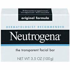 Neutrogena Transparent Scented Facial Soap, Original Formula Soap - 3.5 Oz