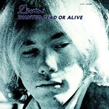 WARREN ZEVON WANTED DEAD OR ALIVE REMASTERED CD NEW