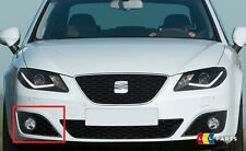 NEW GENUINE SEAT EXEO 09-14 FRONT BUMPER RIGHT O/S OPEN FOG LIGHT GRILL BLACK