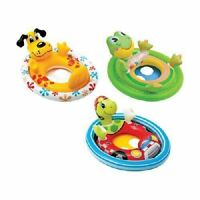 Inflatable Pool Float Kids Pool Float See Me Sit Pool Ride Dog - Frog - Turtle