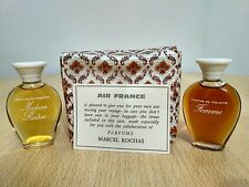 Marcel Rochas Air France Gift set from the 60's Madame Rochas + Rochas Femme NEW