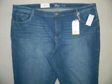 WP8652 Style&co. Women's Plus Slim Leg Core Fashion Jeans NWT Size 24W X 30
