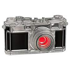 Enamel Metal Pin Badge for Nikon S1 camera enthusiasts. Premium Quality.