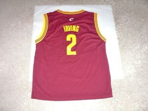 Cleveland Cavaliers KYRIE IRVING Adidas basketball jersey youth Large