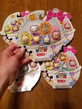 Disney Tsum Tsum Figures TARGET EXCLUSIVE Glitter Pastel Figurines 2017 Toys