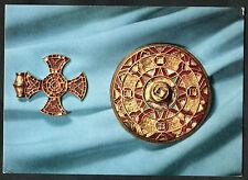 C1980s Art Card: Stanton Cross & Sarre Brooch: Ashmolean Museum, Oxford