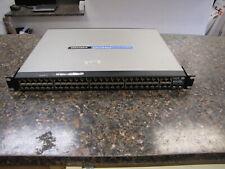 Cisco Linksys Srw248G4P 48-Port 10/100 + 4-Port Gigabit Switch Webview PoE