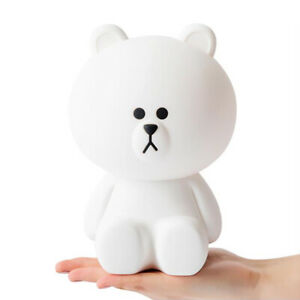 [Express] LINEFRIENDS Brown Silicone Remote Control Mood Lamp