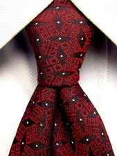 Givenchy Red Silk Tie Made in Italy A2339