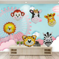 Jungle Animals Foil Balloons for Baby Shower Children Birthday Party Decoration