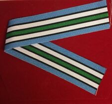 UNMISS United Nations South Sudan Full Size Medal Ribbon 10""