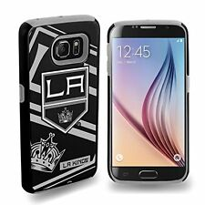 For Samsung Galaxy S6 ONLY Los Angeles Kings NHL Dual Hybrid 2 Piece Case