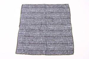 NWT Brunello Cucinelli Men's Multi-Pattern Pocket Square  A176