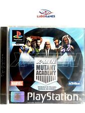X-men Mutant Academy PAL España completo Sony PSX PlayStation PSOne PS1