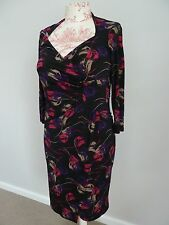 Womens Diana Ferrari Stretch Floral Dress, Size XS