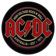 AC/DC - Patch Aufnäher - High Voltage Australia EST 1973 9x9cm