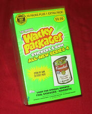 WACKY PACKAGES ANS4 SEALED BONUS BOX IN EXCELLENT CONDITION   @@  SOLD OUT  @@